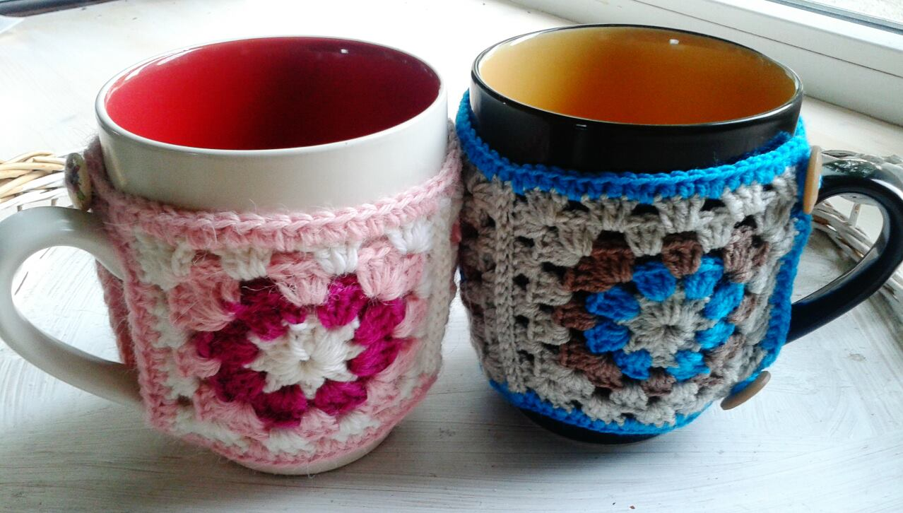 Experimenting With Mug Cozies