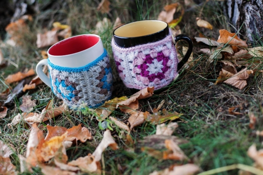 Coffee mug cozies